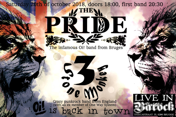 The Pride + 3 Stone Monkey (Eng)