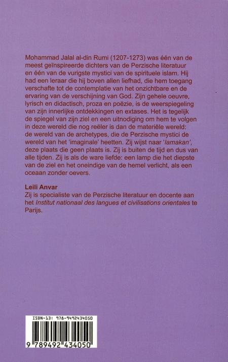 RUMI - DE RELIGIE VAN DE LIEFDE  - Leili Anvar - Carmelitana