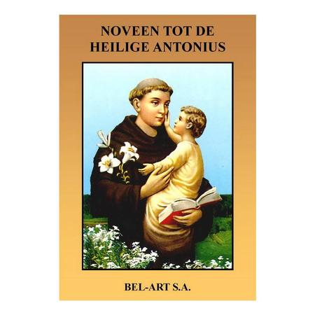 NOVEENBOEKJE H. ANTONIUS