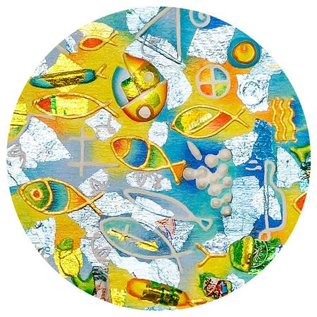 MAGNEET - visjes - doorsnede 5,8 cm