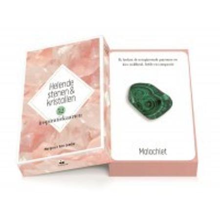 HELENDE STENEN EN KRISTALLEN - 42 inpiratiekaarten/ instructieboek