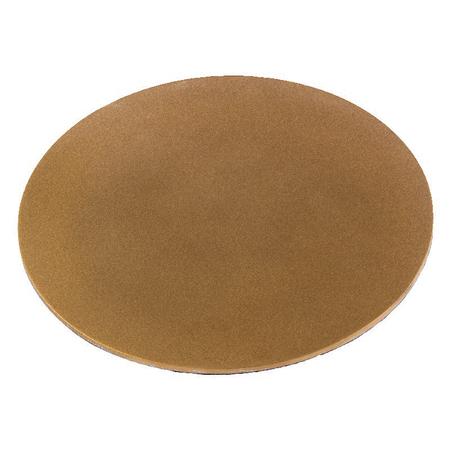 ONDERZETTER KAARS - goud - mat - doorsnede 13 cm