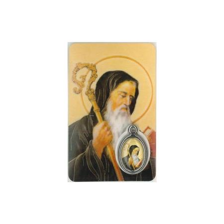 MEDAILLEKAART - H. BENEDICTUS + gebed
