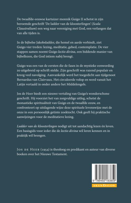 DE LADDER VAN DE KLOOSTERLINGEN - spiritualiteit van de lectio divina - De Heer/