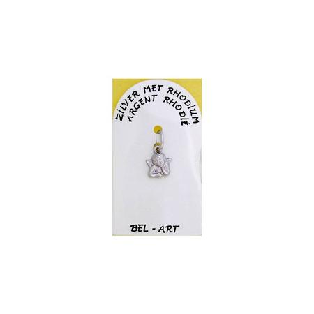 MEDAILLE -  engel zilver klein