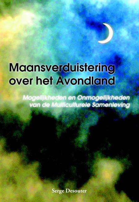 MAANSVERDUISTERING OVER HET AVONDLAND - S. Desouter