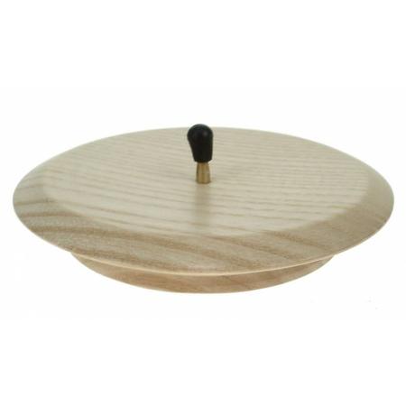 KAARSENHOUDER - d 10 cm - blank/hout