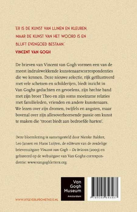 TROOST VOOR BEDROEFDE HARTEN - brieven van Vincent Van Gogh
