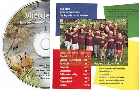 VLIEG JE MEE - 9 liederen - CD