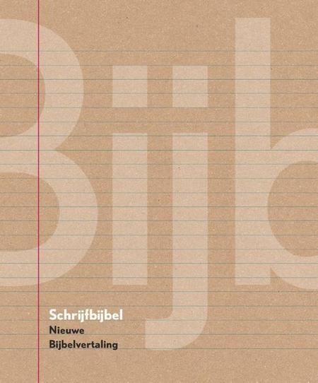 SCHRIJFBIJBEL  - Nieuwe Bijbelvertaling