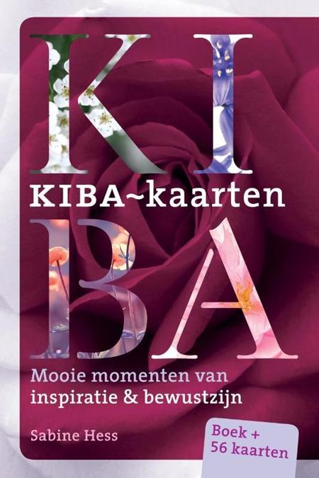 KIBA KAARTEN - mooie momenten ... boek + 56 kaarten