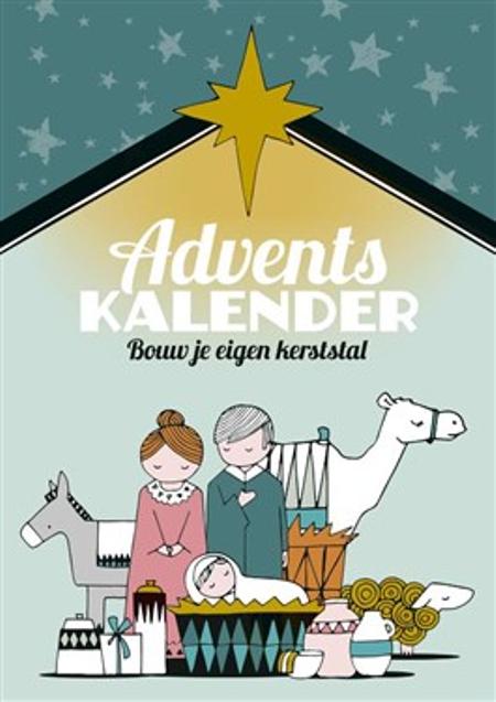 ADVENTSKALENDER - bouw je eigen kerststal - knutselopdrachten