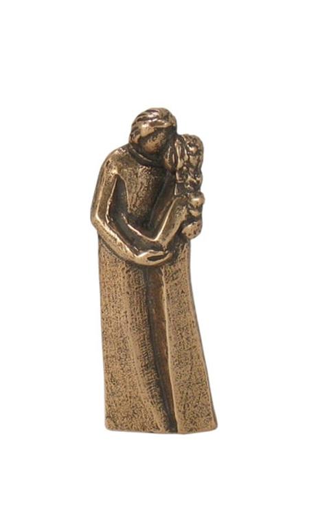 KOPPEL - 7 cm h - in een doosje - brons