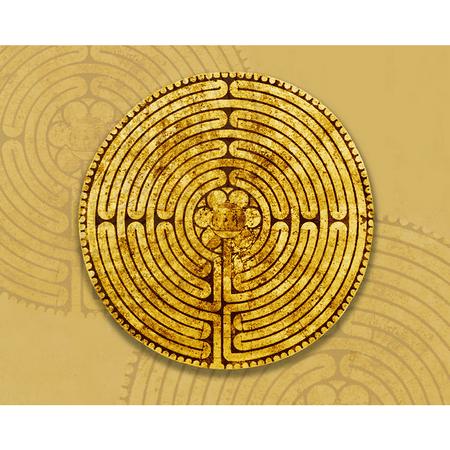 MUISMAT - labyrith Chartre - 24x19 cm