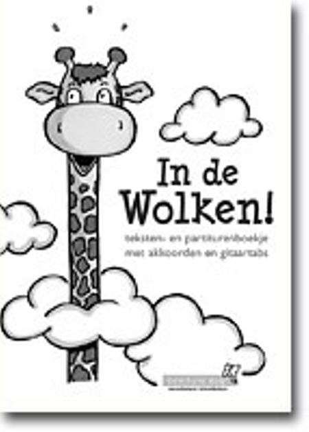 IN DE WOLKEN - teksten- en partiturenboekje