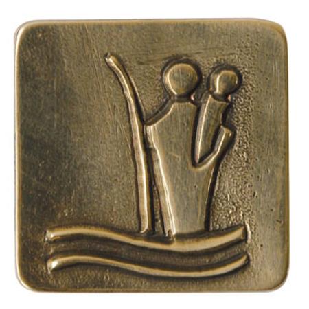 MAGNEET - Christoffel - brons