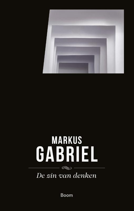 DE ZIN VAN DENKEN -  MARKUS GABRIËL