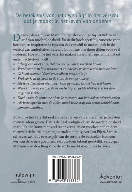 DESKUNDIGHEID VAN DE MACHTELOOSHEID - Manu Keirse / Leo Fijen