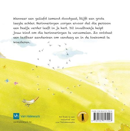 VAARWEL - Mijn  boekje vol herinneringen