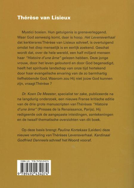 MIJN LEVENSVERHAAL - Thérèse van Lisieux