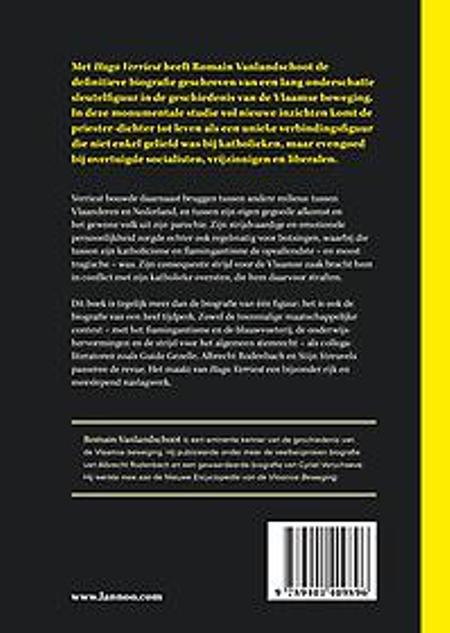 HUGO VERRIEST - BIOGRAFIE - ROMAIN VANLANDSCHOOT