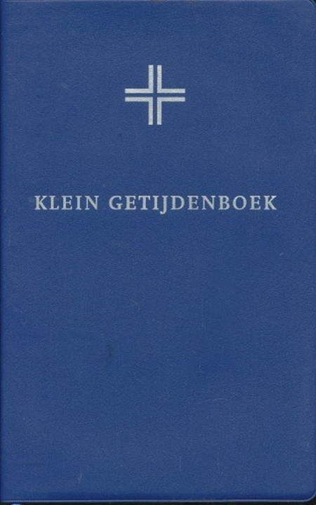 KLEIN GETIJDENBOEK - blauw