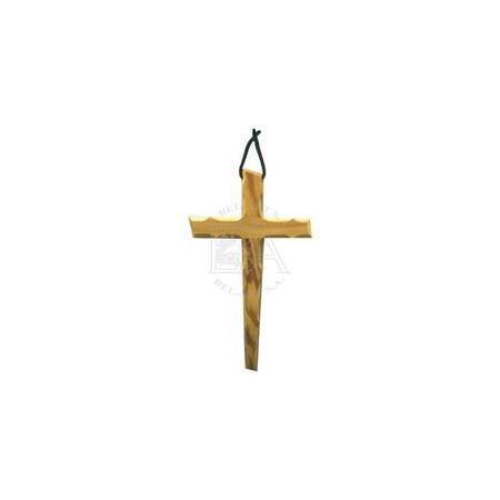 KRUISBEELD - olijvenhout - 13 cm