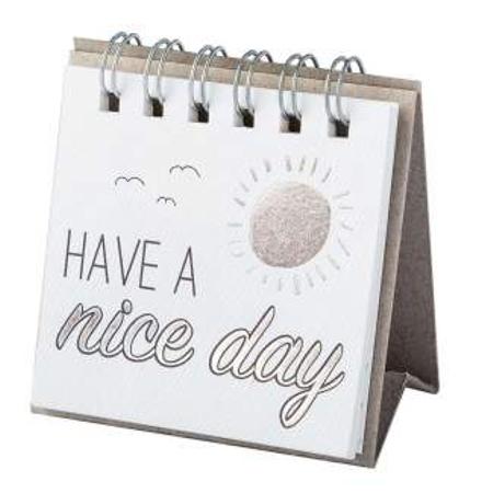 HAVE A NICE DAY - verschillende teksten - kleine boodschapper