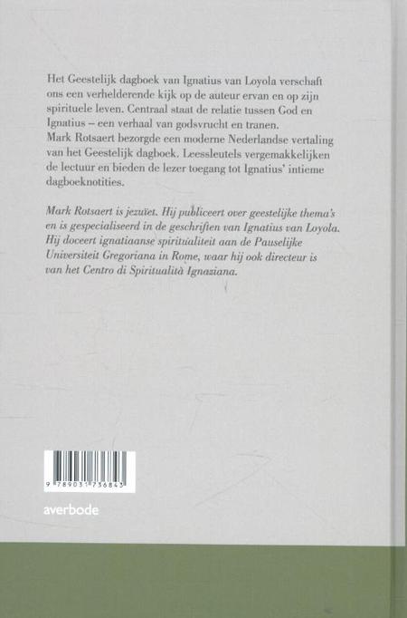 GEESTELIJK DAGBOEK - IGNATIUS VAN LOYOLA