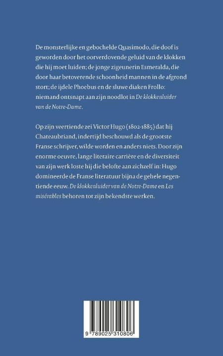 DE KLOKKENLUIDER VAN DE NOTRE DAME - Victor Hugo