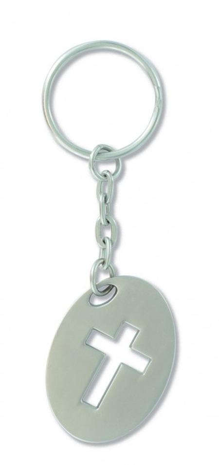 SLEUTELHANGER - kruisje - 3,5 cm
