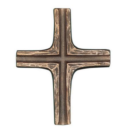 KRUIS - brons - 9x7,5 cm - om te hangen