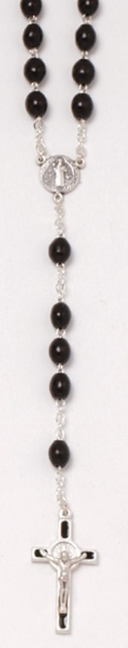 PATERNOSTER - zwart - hout - 52 cm