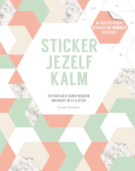 STICKER JEZELF KALM - E. ROTMANS