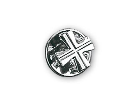 KRUISJE VOOR PRIESTER - zilver - pin