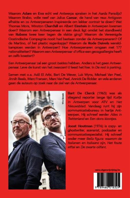 DE REST IS PARKING - DE CLERCK/ HOUTMAN