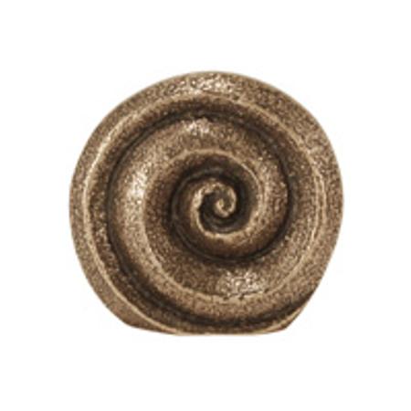 SPIRAAL - brons - om te staan - doorsnede 4 cm - in een doosje