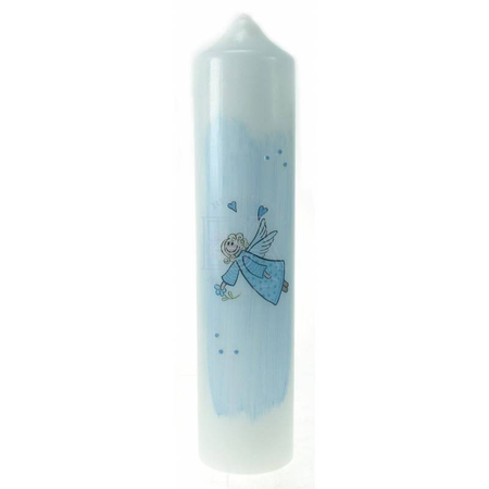 DOOPKAARS - engel - blauw - 265/60
