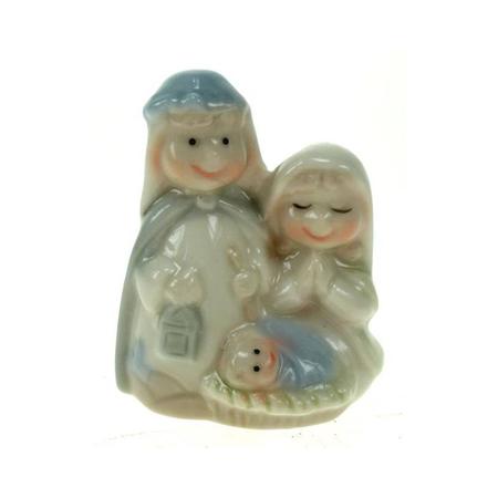H. FAMILIE - 6,5 cm - porcelein