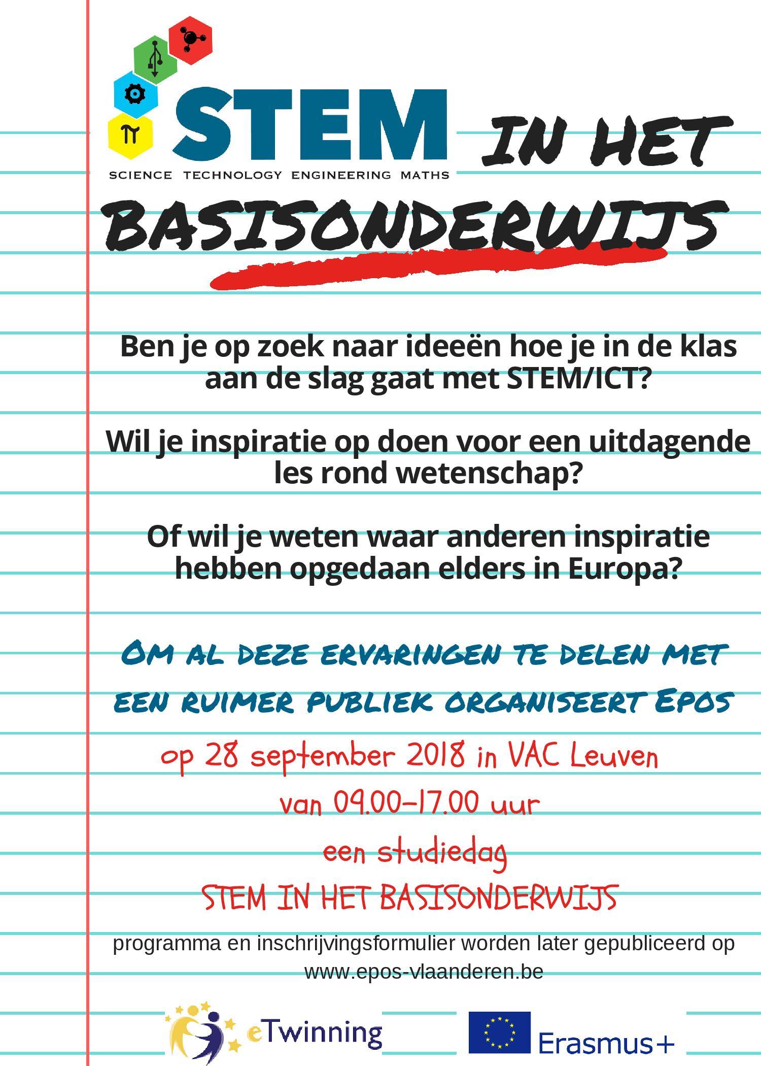 Save the date_STEM basisonderwijs