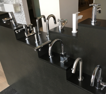 PAFFONI - viola koudwaterkraan v/handwasbak hoog model chroom