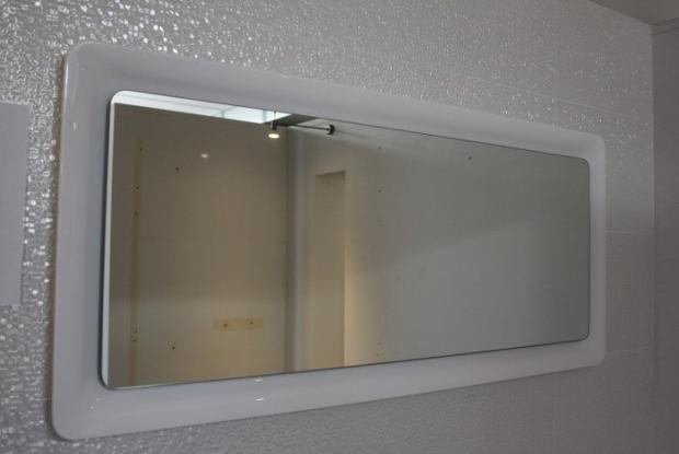 Spiegel + ledverlichting