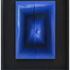 Dinamica nero-azzurra by Alberto Biasi