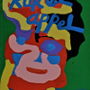 Circusclown by Karel Appel