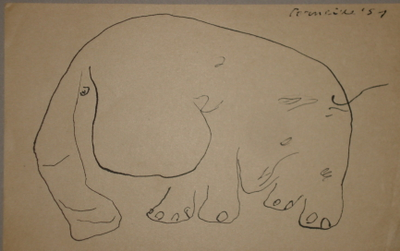 Elephant by  Corneille