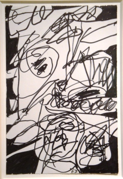 non lieu xxv by Jean Dubuffet
