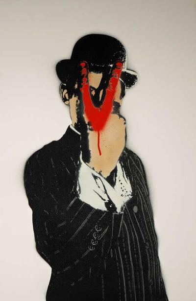 V for Vandal by Nick Walker