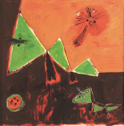 Le royaume des papillons by  Corneille
