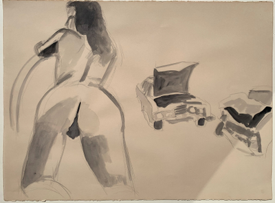 Untitled 1 by David Salle