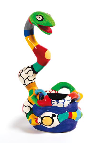 Vase Serpent by Niki De Saint-phalle